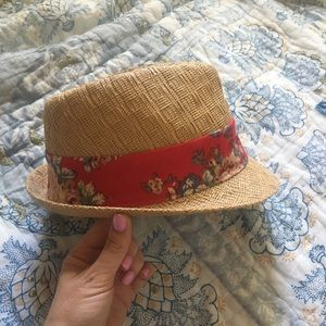 Fedora with Floral Band Forever 21